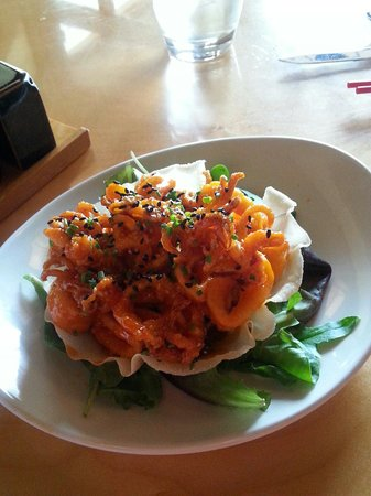 Red Ginger: You must try the calamari!
