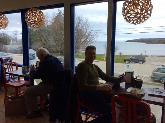 Blue Horse Cafe: Best seats in the Cafe!
