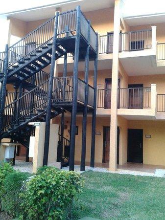 Hotel Riu Lupita: Bloco de aptos