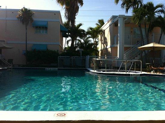 BEST WESTERN Hibiscus Motel: Pool mit Blick zur Straße