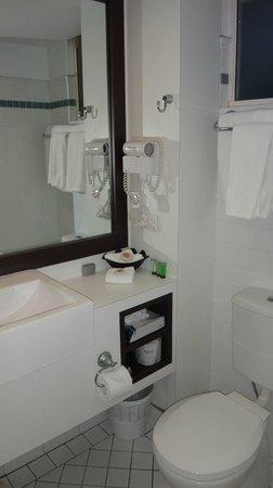 Comfort Inn and Suites Northgate Airport: Bathroom