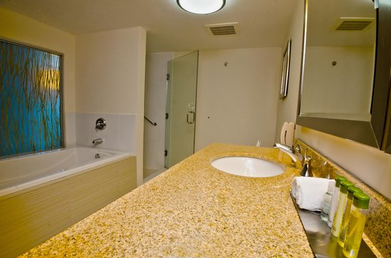 DoubleTree By Hilton Panama City: Deluxe bathtop and shower
