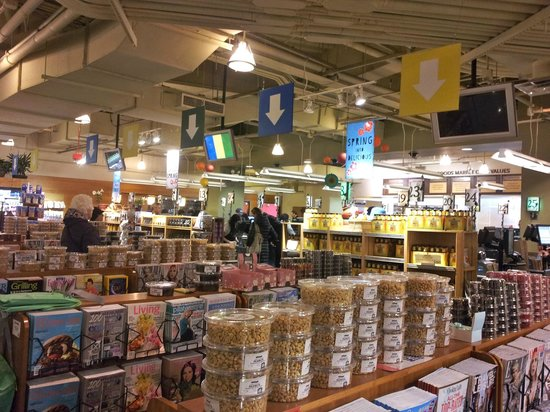 Store interior towards checkout aisles picture of whole for American wholefoods cuisine