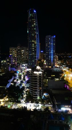 Mantra on View Hotel: Night view