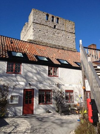 Hotel St. Clemens: St. Clemens hotell - Visby - April 2014