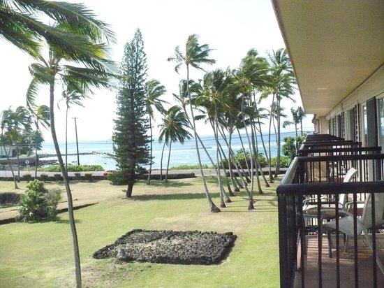 Prince Kuhio Condos: Balcony view