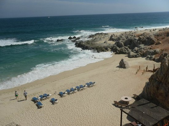 Club Regina Los Cabos: beach in front of hotel