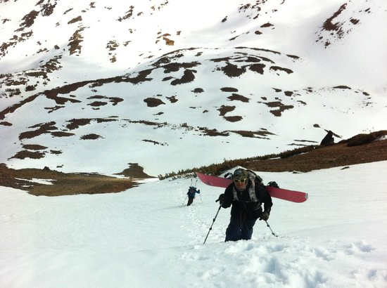 June Lake Villager: Incredible backcountry skiing/riding access!