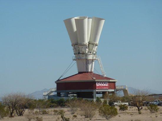 Bent Prop Bar & Grill: Sky Ventures simulator/wind tunnel