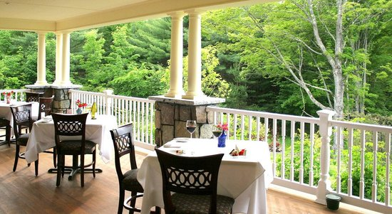 Dining Room at The Inn at Thorn Hill and Spa : Dine on our porch