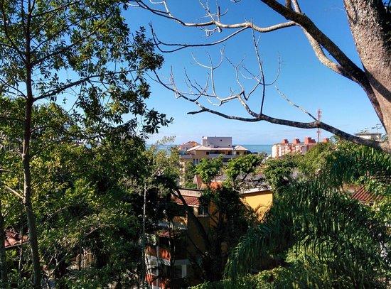 Hotel Coquille - Ubatuba: Visão da área de jogos