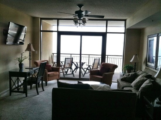 Penthouse living area (taken from the kitchen) - Picture ...