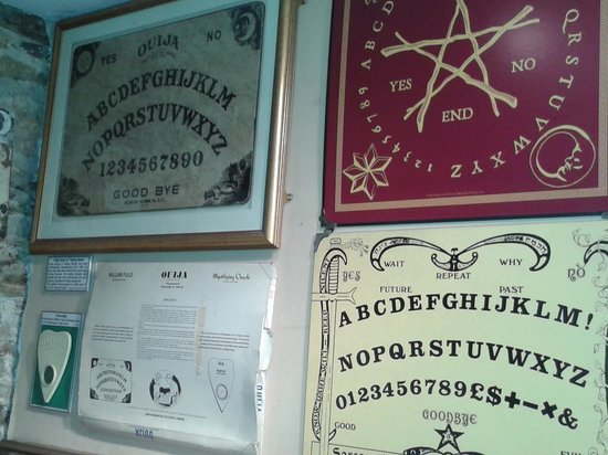 The Museum of Witchcraft and Magic: Spirots Boards