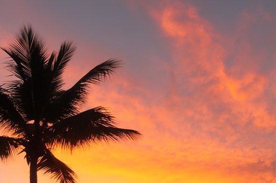 The Tropical at Lifestyle Holidays Vacation Resort: Dominican sunset!
