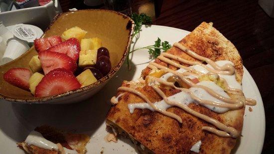 Hard Rock Cafe : Breakfast Quesidilla