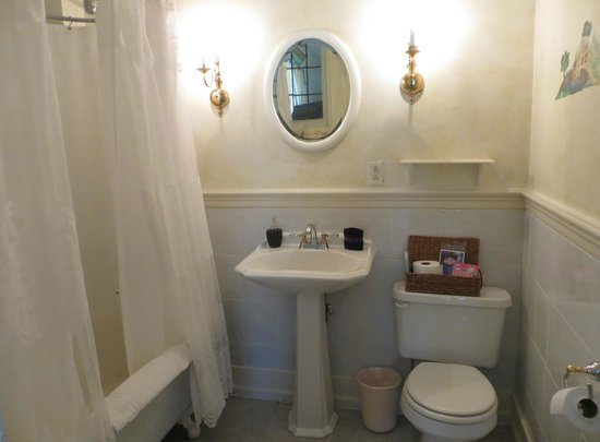 Elk Forge B&B Inn, Retreat and Day Spa: Bathroom of Lancaster Room