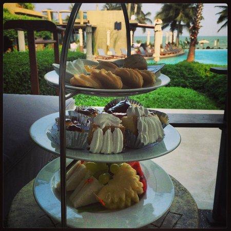 Veranda Resort and Spa Hua Hin Cha Am - MGallery Collection : High tea on our 'at sea room' porch