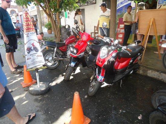 Dreams Huatulco Resort & Spa: Rented mopeds