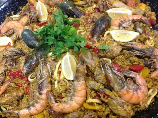 Alsace a Table: paella sur commande