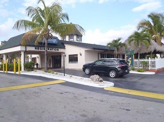 Travelodge Florida City/Homestead/Everglades: recepção hotel