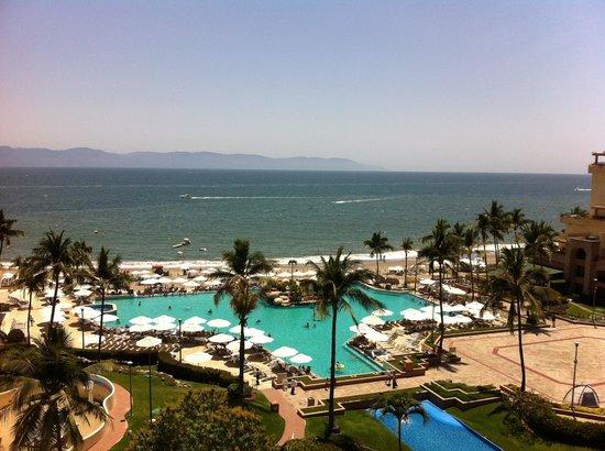 CasaMagna Marriott Puerto Vallarta Resort & Spa : Vista desde la habitacion