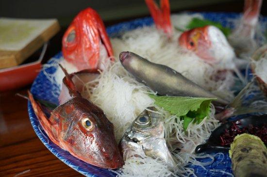 Naginosho : 魚の下は血だらけでした