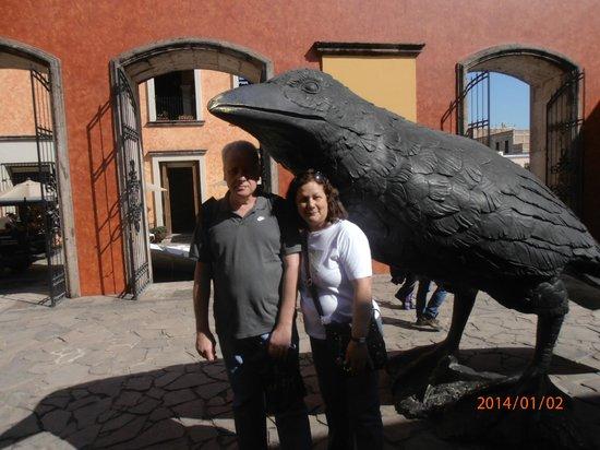 La Rojena: Famoso corvo.