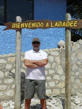 Labadee: Placa padrão!