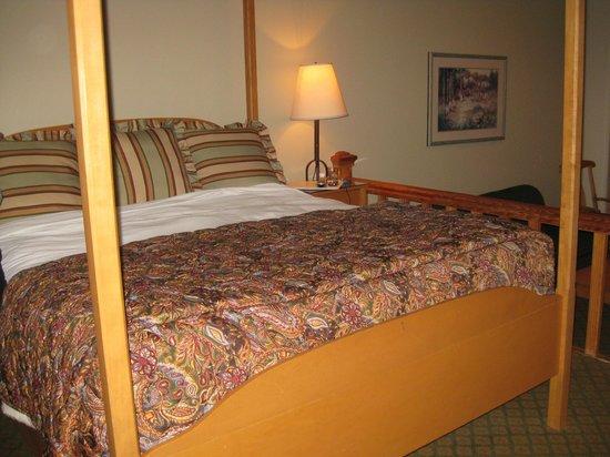 Pine Ridge Inn: King suite