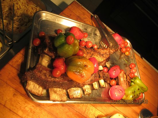 Royal Decameron Salinitas: Main buffet dish