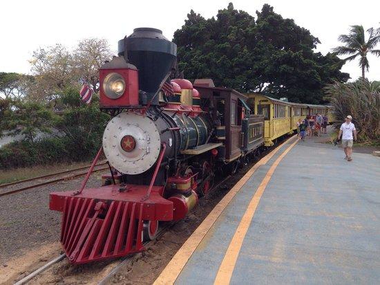 Sugar Cane Train : Bahnhof Lahaina