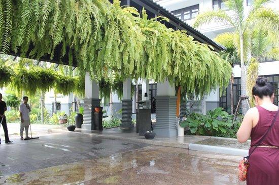 Shinta Mani Shack: Entrance