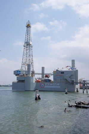 Ocean Star Offshore Drilling Rig & Museum: Oil Museum Platform
