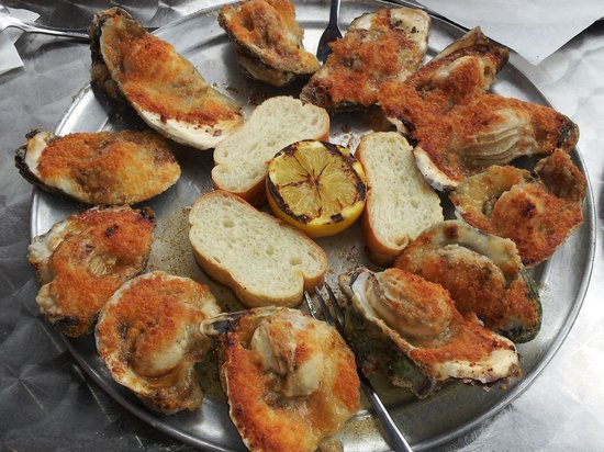 Little Daddy's Gumbo Bar : char-grilled oysters