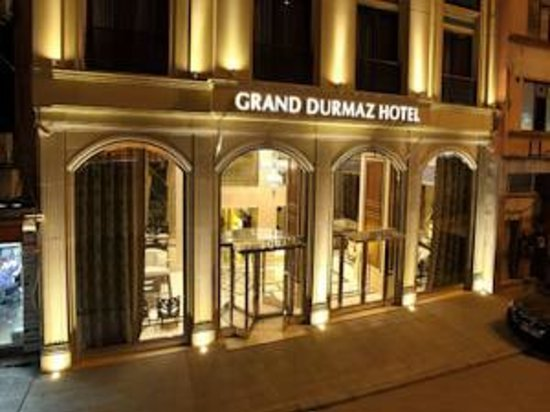 Grand Durmaz Hotel: front of hotel