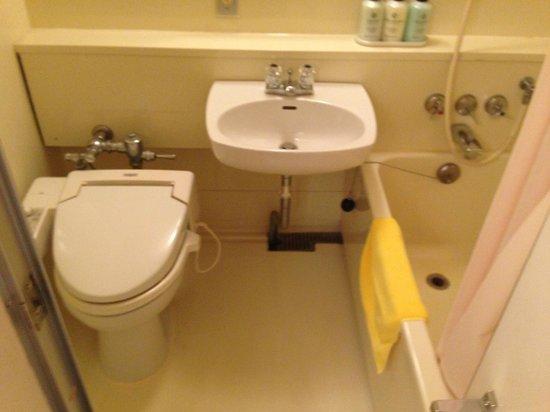 Irako View Hotel : トイレ