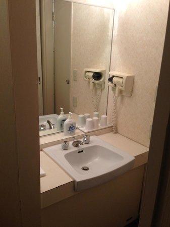 Irako View Hotel : 洗面