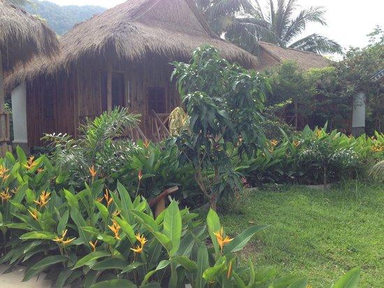 Le Coco De Mer Bungalows & Restaurant : Garden