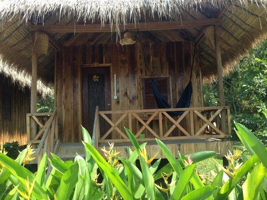 Le Coco De Mer Bungalows & Restaurant : Wooden bungalow