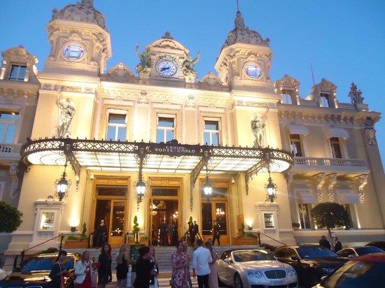 Casino of Monte-Carlo : Outside the casino