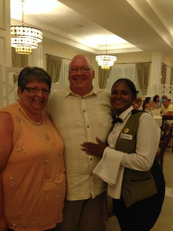 Luxury Bahia Principe Bouganville Don Pablo Collection : Us with Natividad....She is a real Sweetheart
