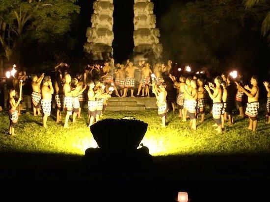 The Chedi Club Tanah Gajah, Ubud, Bali – a GHM hotel: The traditional Kecak Fire Dance