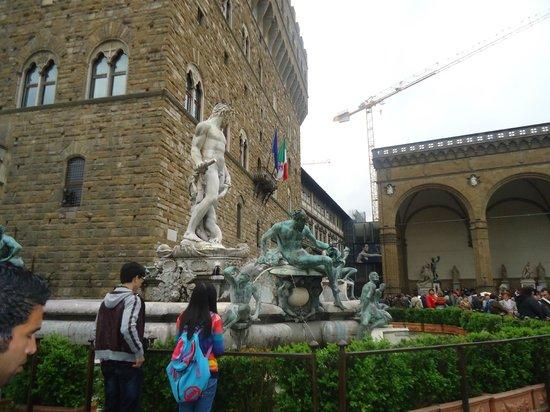 Galería de la Academia: Statue of David replica