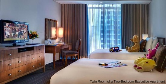 Joy Nostalg Manila Managed by AccorHotels: Second room of the Two-Bedroom Executive