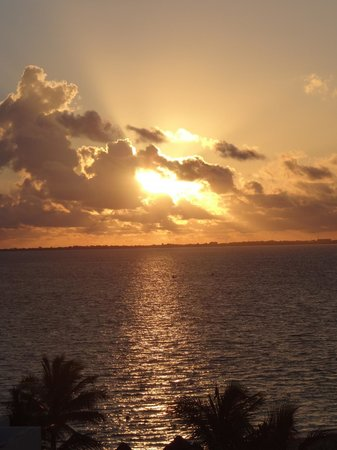 Excellence Playa Mujeres: Our sunset