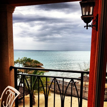 Sandals Whitehouse : View from butler suite in Italian village