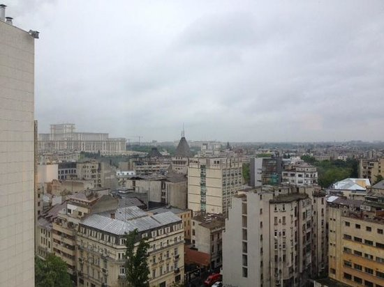 Novotel Bucarest City Centre : Vistas desde la 1005