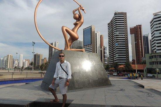 Holiday Inn Fortaleza : Disfrutando.