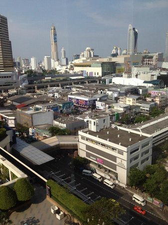 Pathumwan Princess Hotel : View from our Room