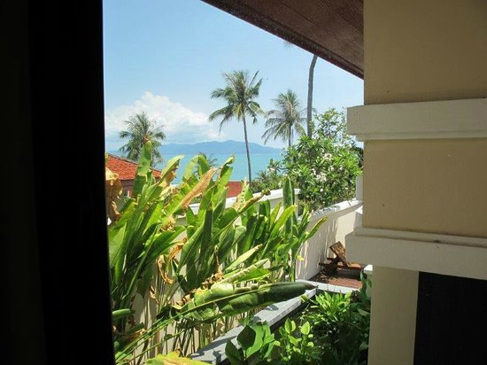 Q Signature Samui Beach Resort : view from kitchen